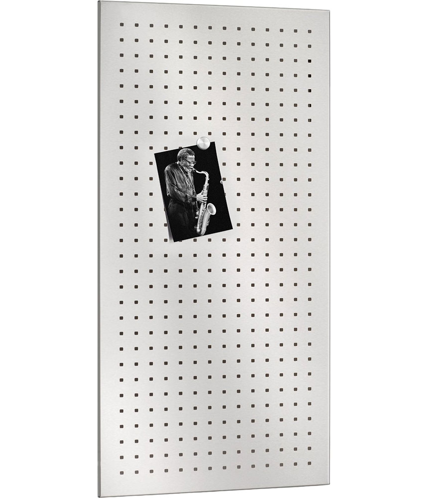 stainless steel magnetic board  perforated in memo and bulletin  - stainless steel magnetic board  perforated in memo and bulletin boards